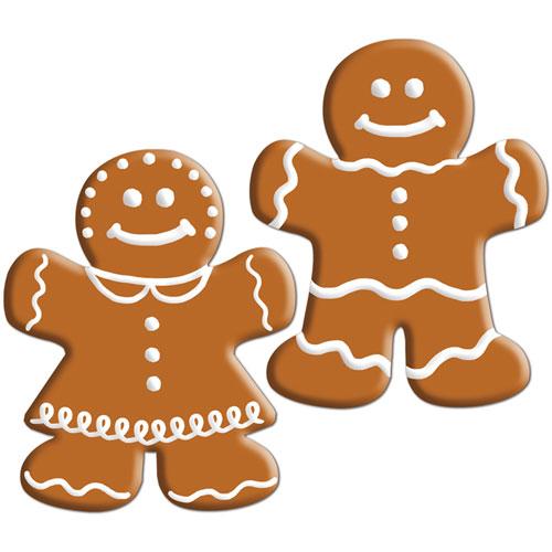 Mini Gingerbread Cutouts