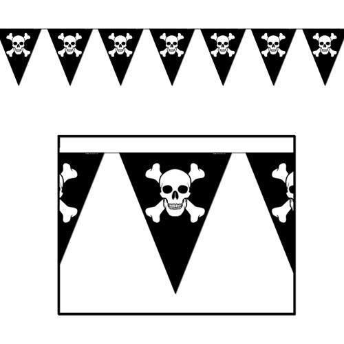 Украшение для пиратской вечеринки своими руками