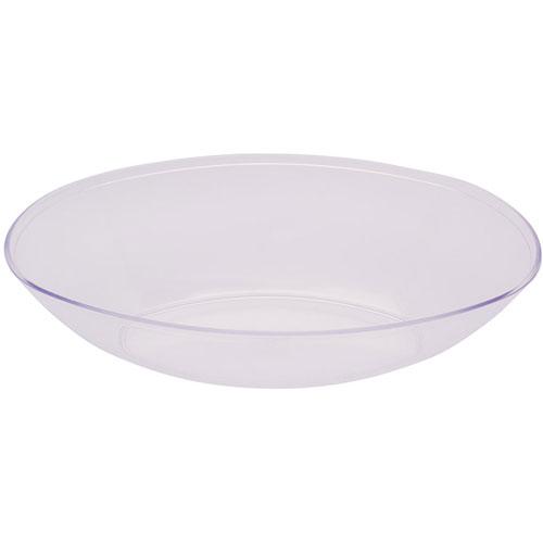 clear bowl plastic large oval. Black Bedroom Furniture Sets. Home Design Ideas