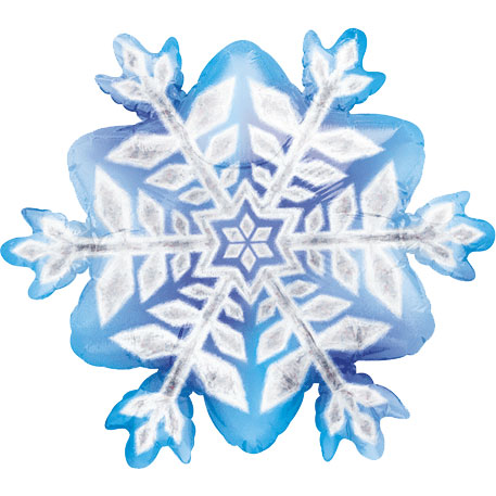 Snowflake prismatic mini shape foil balloon ziggos com