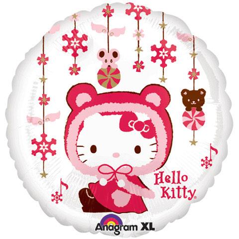 "18"" Hello Kitty Winter Kitty - Ziggos.com"