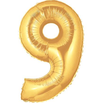 Megaloon Number 9 Gold - Ziggos.com