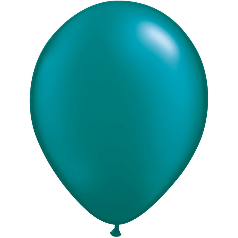 Teal Latex Balloons 66
