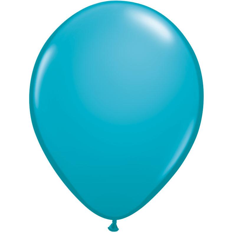 Teal Latex Balloons 15