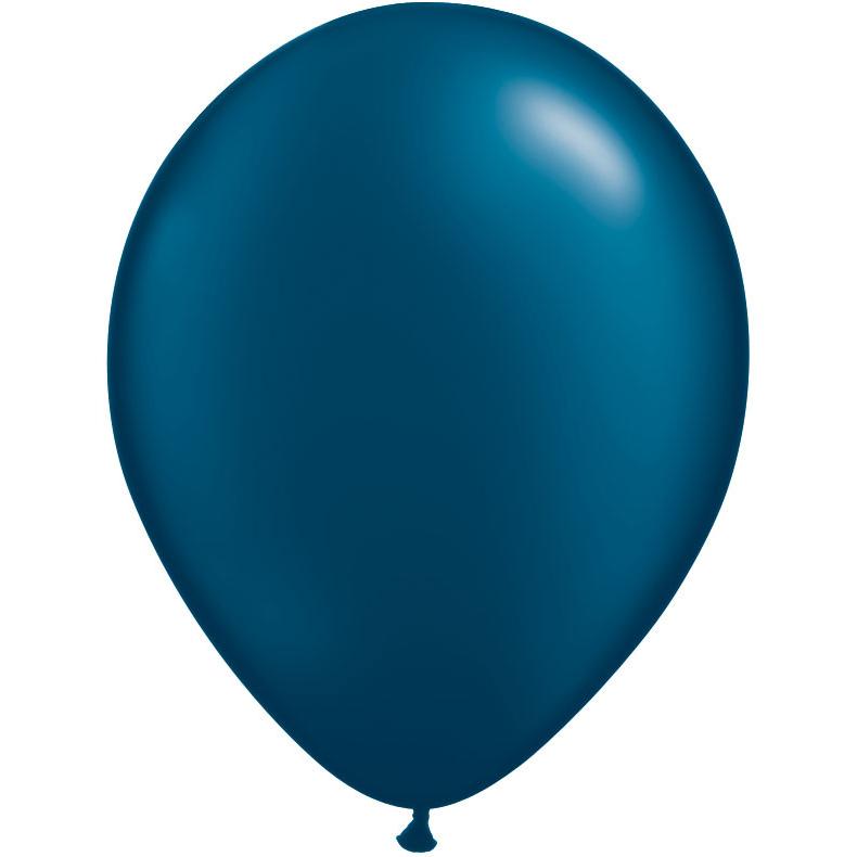Qualatex 11 Quot Pearlized Midnight Blue Latex Balloons 100
