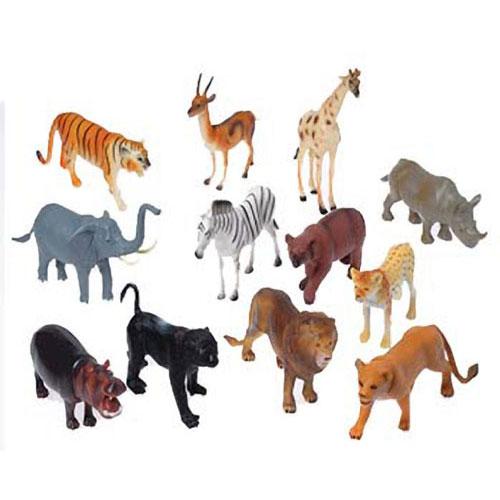 8 Inch Wild Animal Toys Ziggos Com